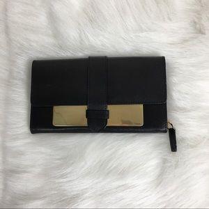 ASOS Black/ Gold Clutch Purse